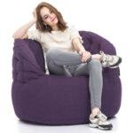 Butterfly Sofa - Aubergine Dream