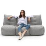 Mod 3 Movie Couch - Keystone Grey