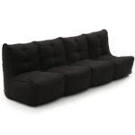 Mod 4 Quad Couch - Black Sapphire