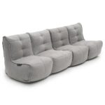 Mod 4 Quad Couch - Keystone Grey