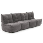 Mod 4 Quad Couch - Luscious Grey
